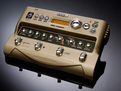 Line 6 JM4 Looper Pedal - Click the image to go to the Line 6 site and read all about this pedal - Opens in a new tab / window