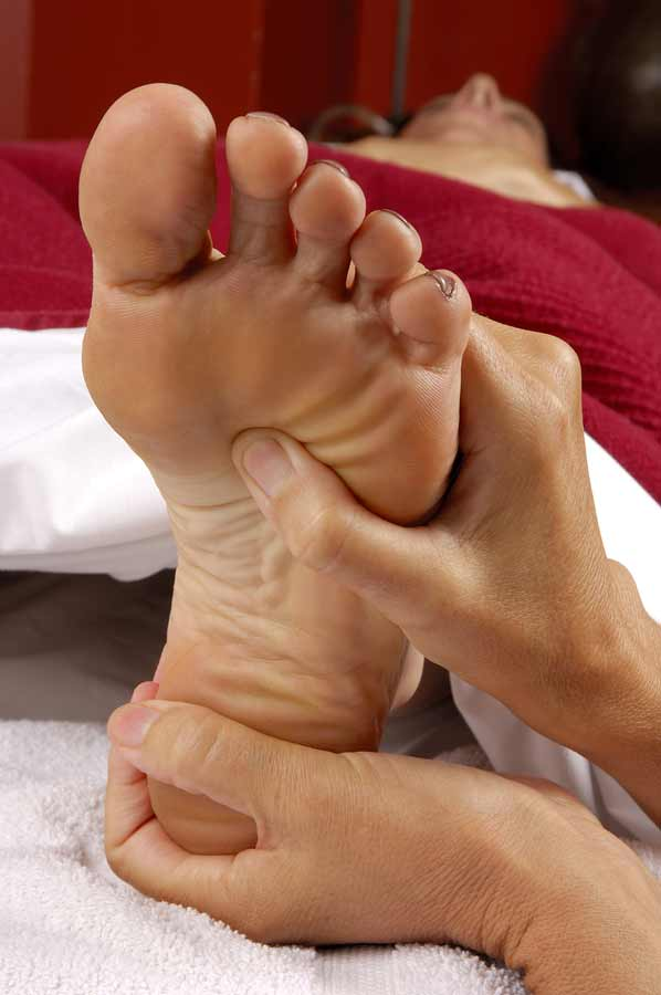 Reflexology - image from Big Stock Photos - royalty-free high quality low cost images - click image for further info - opens in a new tab/window